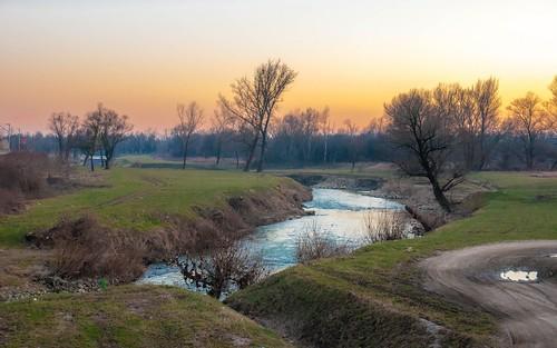 rivers riverkrapina sunset zaprešić hrvatska croatia nikond90 tamron175028 vladoferencic