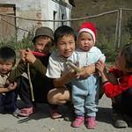 Kyrgyz Village Kids - Karakol, Kyrgyzstan