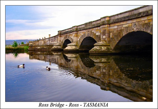 .Ross Bridge - Ross - TASMANIA.