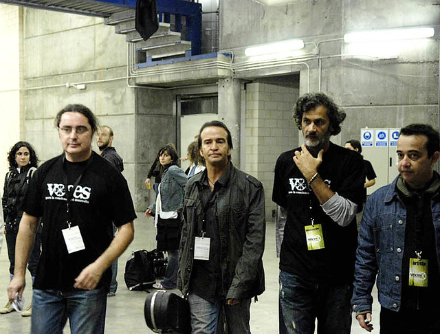 Toni Martínez, Carlos Urquijo, Iñigo Ramirez - Concierto VOCES - 2007