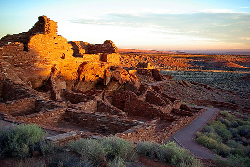 Wupatki National Monument Arizona - First Light