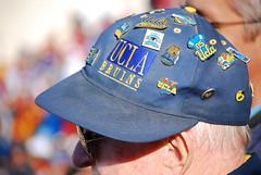 clothing, hat, cap, baseball cap, blue, headgear,