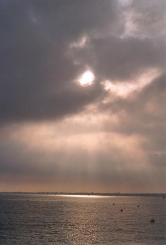 La mer et les rayons du soleil I