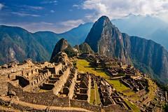 [フリー画像素材] 建築物・町並み, 遺跡, マチュ・ピチュ, 世界遺産, 風景 - ペルー ID:201112051800
