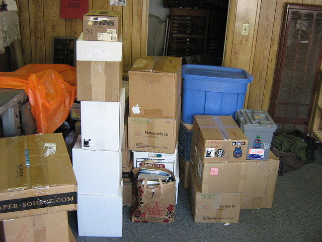 too much stuff to move
