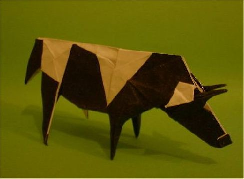 origami cow flickr photo sharing