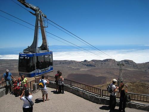 Teleferico el Teide