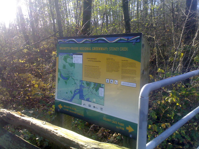 Brunette-Fraser Regional Greenway: Stoney Creek