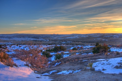 sunset sky snow newmexico clouds desert sunsets hdr ojito ojitowilderness