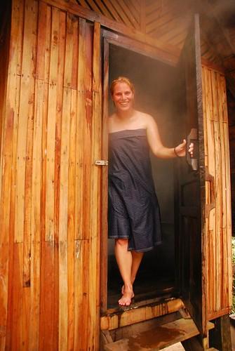 healthy sauna