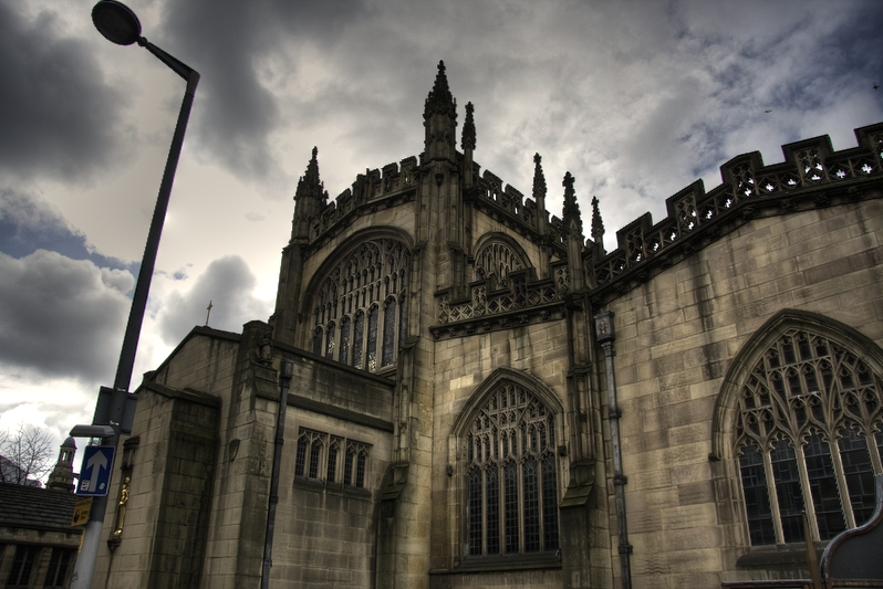 Manchester Cathedral HDR