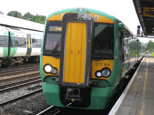 Reigate Station - train to London Victoria