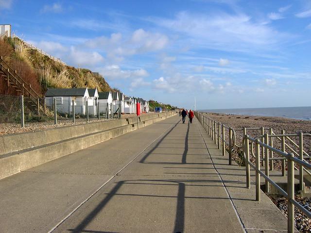 The promenade in Bexhill