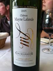 2005 Ch. Mayne Lalande