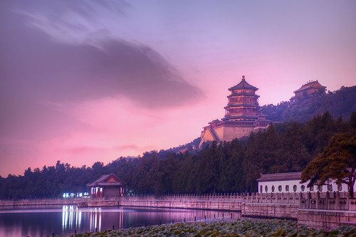 Evening at the Summer Palace