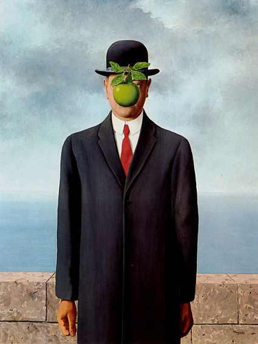 Son of Man (Magritte) | Flickr - Photo Sharing!