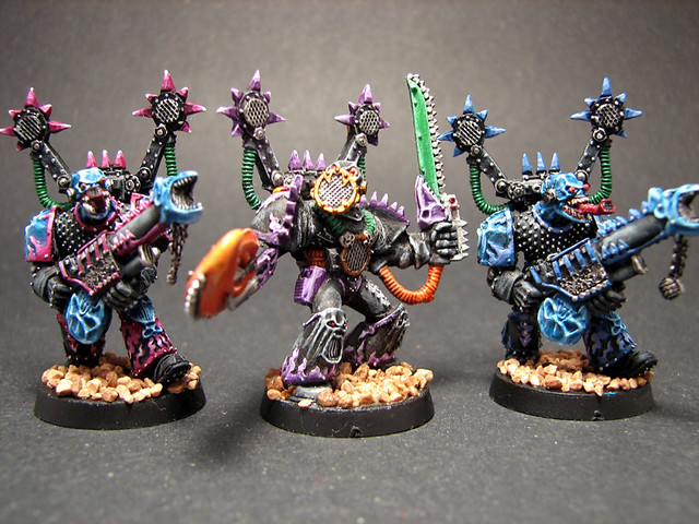 Warhammer 40k Chaos Noise Marines