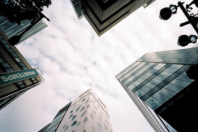 ginza, looking up (1)