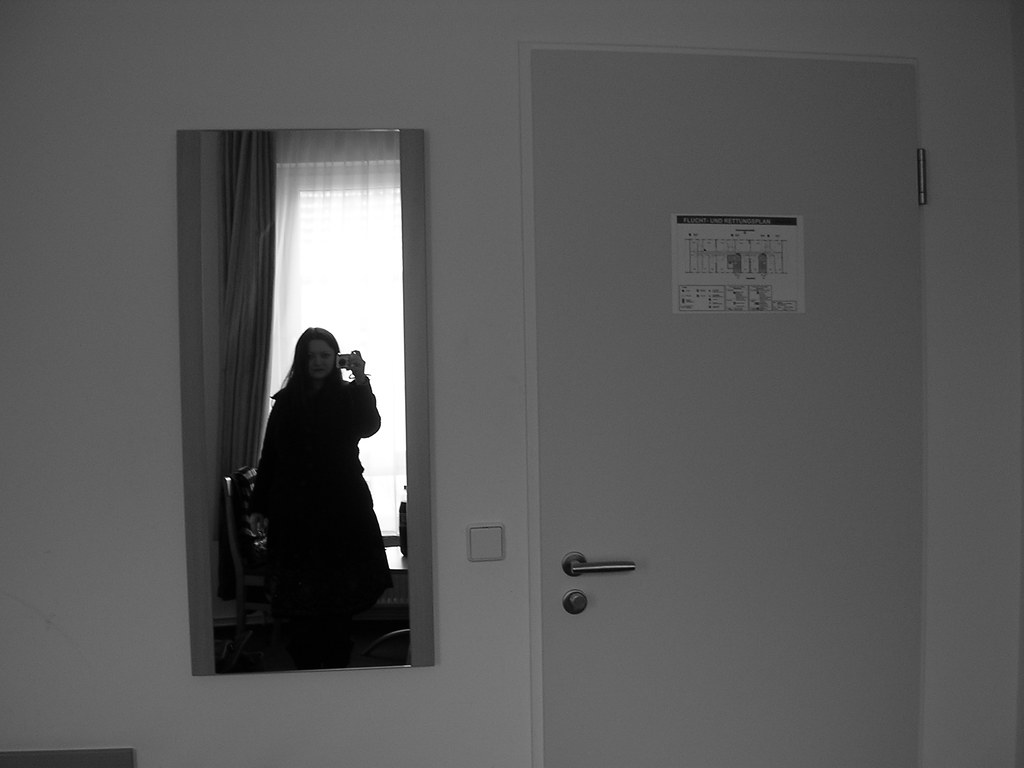 hotel room + boredom + camera