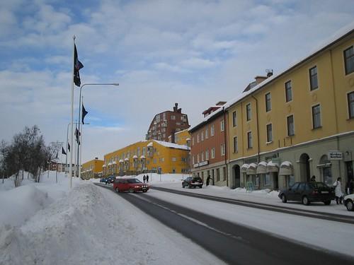 Kiruna town centre