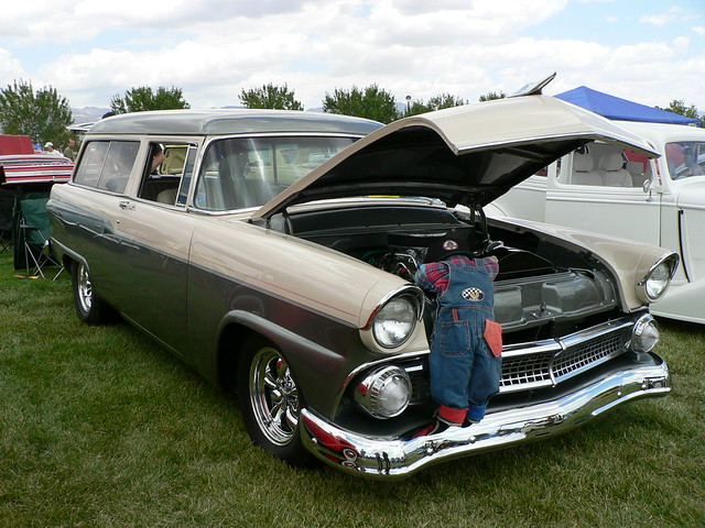 1955 ford 2 door wagon flickr photo sharing