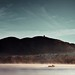 Mountain / Boat / Landscape
