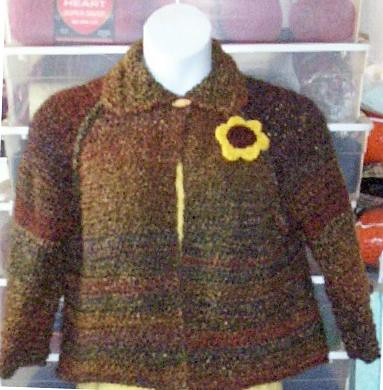 Matinee Jacket, Quick & Easy crochet pattern | eBay