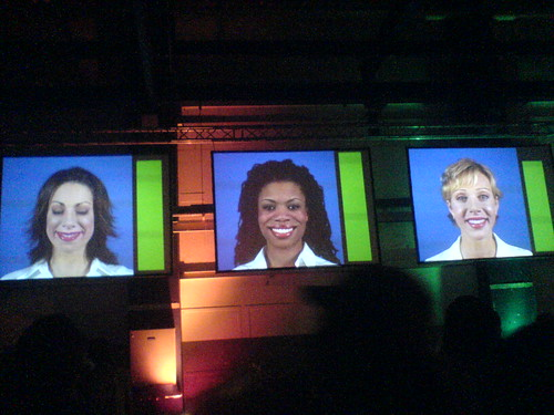 Face recognition (smile detection) @ STRP