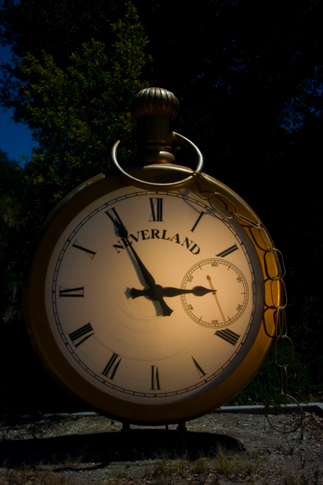 The Neverland Ranch Clock