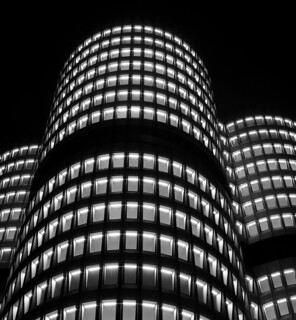 BMW Tower @ Night (III)