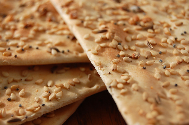 Sesame And Flax Flatbreads Recipes — Dishmaps