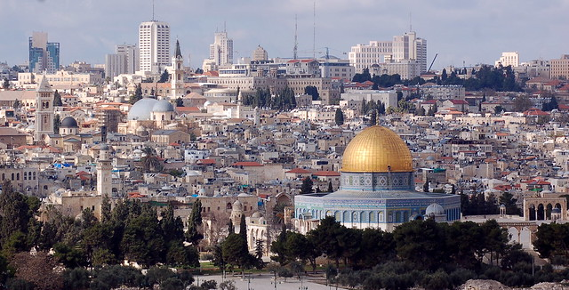 Jerusalem seen from the Mount of Olives