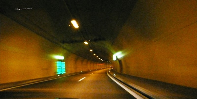 Tunnel on motorway Biel-Solothurn