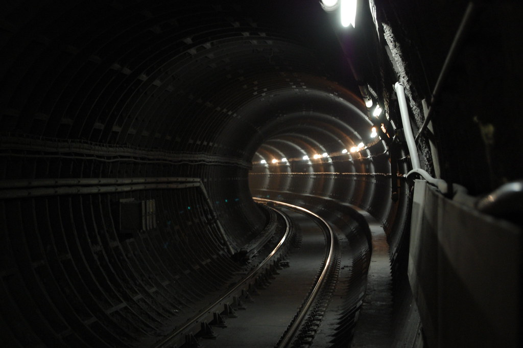 Subway Tunnel, Bloor Station