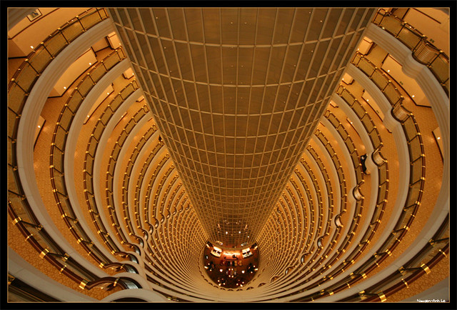 At the Grand Hyatt Shanghai