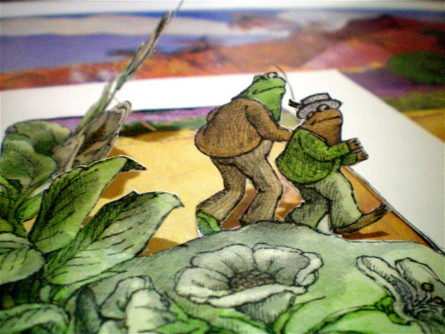 Frog and Toad Together (I Can Read Book 2)-ExLibrary