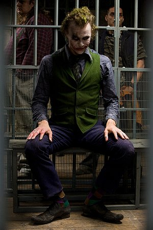 The dark knight: Joker(Heath Ledger)