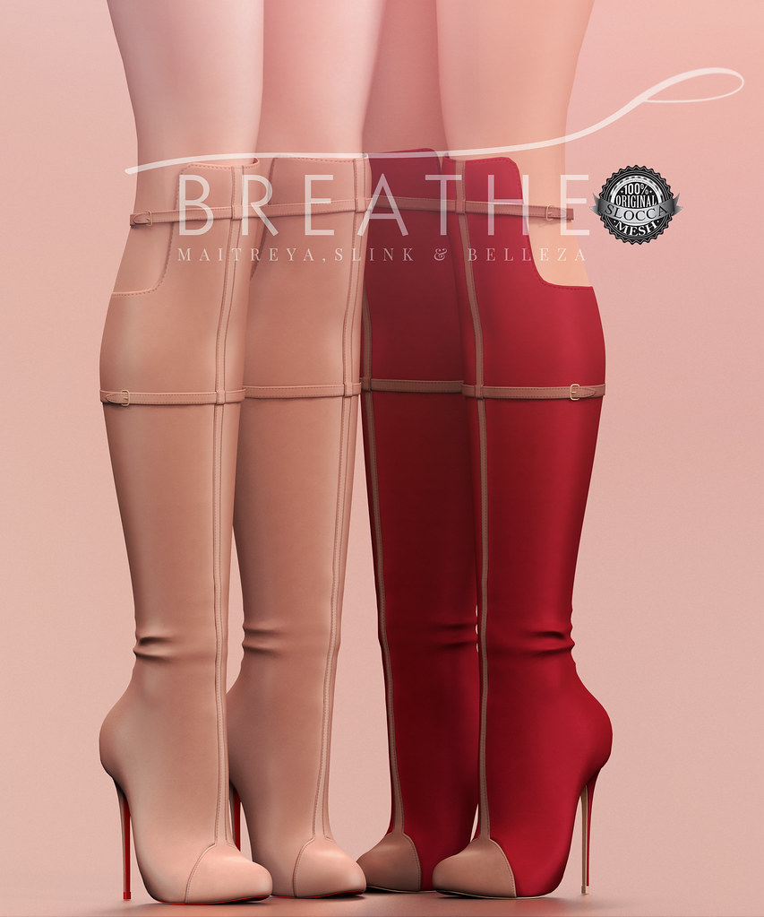 [BREATHE]-Dalia Boots - SecondLifeHub.com