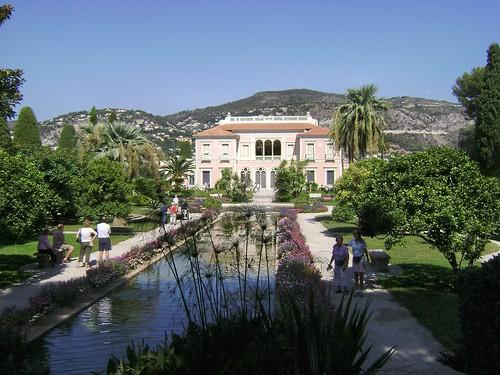 Villa ephrussi de rothschild et jardin cap ferrat c te d for Jardin villa rothschild