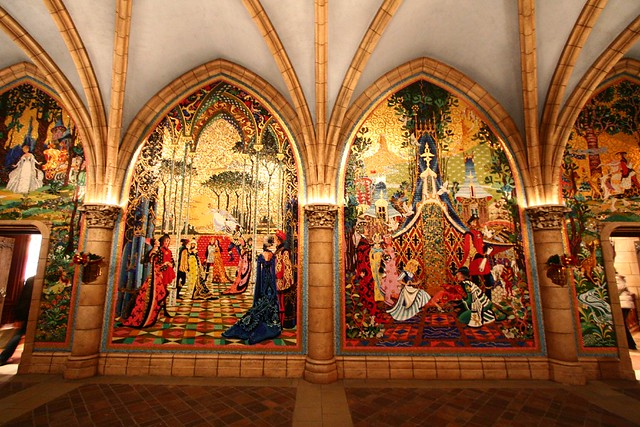 Cinderella murals flickr photo sharing for Cinderella castle mural