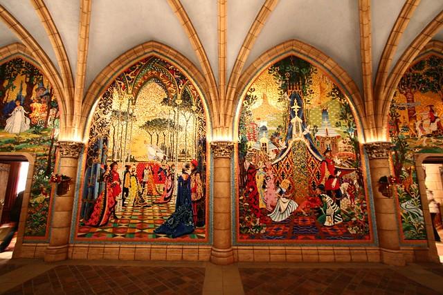 Cinderella murals flickr photo sharing for Cinderella castle mural