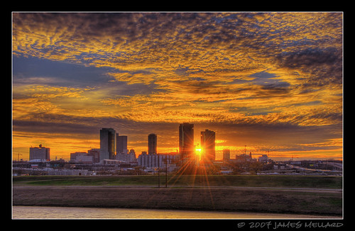 Downtown Fort Worth Sunset