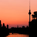 River Spree Sunset, Berlin, Germany