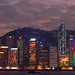 Hong Kong Christmas lights by FredrikN