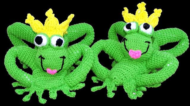 Free Crochet Pattern Frog Slippers : Frog Kisser Slippers - Crochet Pattern Flickr - Photo ...