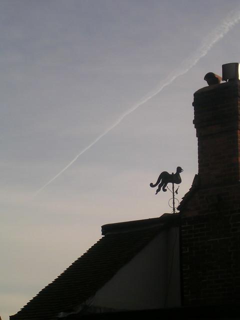 A weathervane