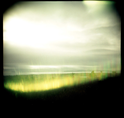120 film landscape holga fuji lightleak flare marincounty marsh pointreyes limantour pro400h