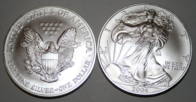 2004 Silver American Eagle Coin Value American Eagle