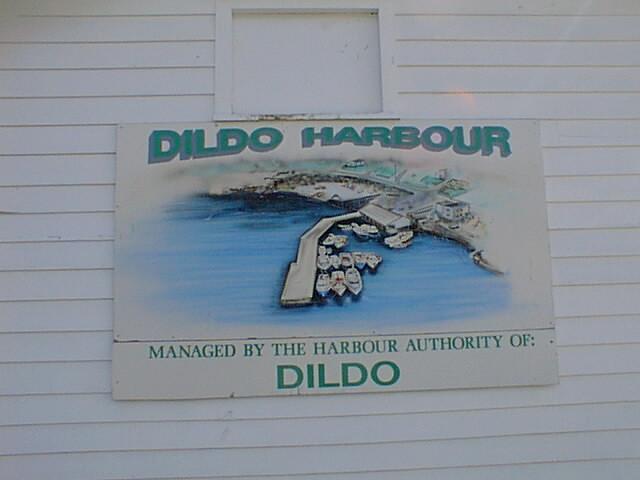Dildo Harbour Sign