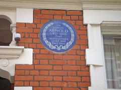Photo of Edwin Arnold blue plaque